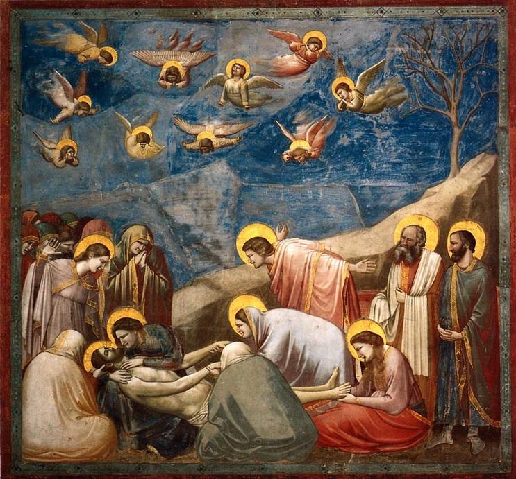 Title Lamentation Artist Giotto Date 1303 Medium Buon Fresco Pigments Water And Plaster Period Culture Proto Renaissance Late Italian Gothic